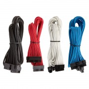 Premium Individually Sleeved PSU Cable Kit Starter Package