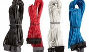 Premium Individually Sleeved PSU Cable Kit Starter Package sam