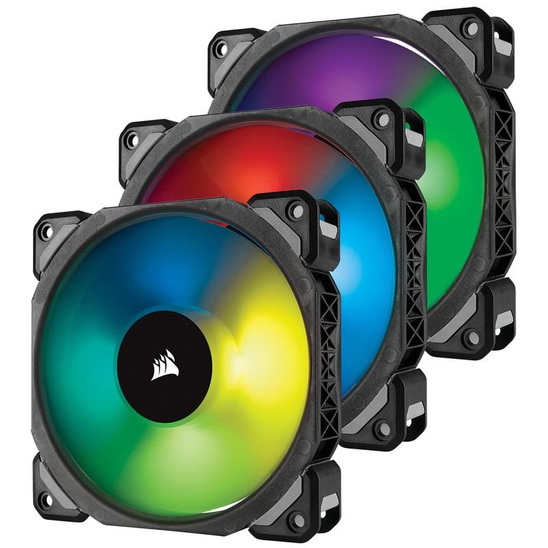 ML120 PRO RGB 3 Fan Con sam