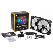 ML140 PRO RGB 2 Fan Con