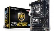 GA-Z170-HD3 DDR3